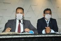 Affonso Cândido e Lorenil Gomes pedem suspensão do ISSQN para taxistas e motoxistas