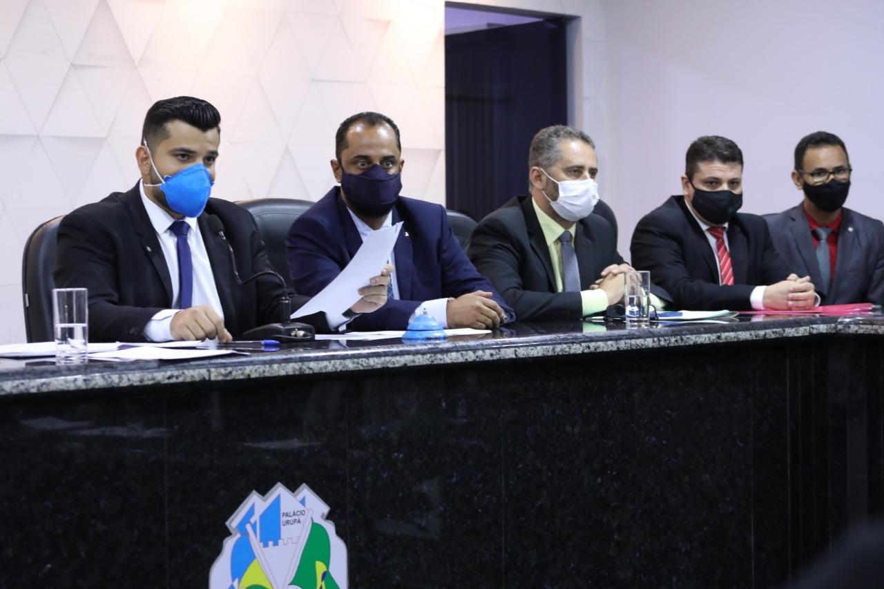 Câmara Municipal de Ji-Paraná realizou eleição da Mesa Diretora para o biênio 2023/2024