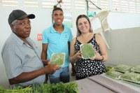 Cláudia de Jesus acompanha abertura da Feira da Agricultura Familiar