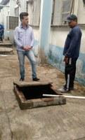 Edivaldo Gomes acompanha solução no sistema de drenagem do HM