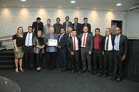 Ex-prefeito Roberto Jotão recebe título de Cidadão Honorário Ji-paranaense