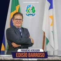 Feliz Aniversário Edisio Barroso!