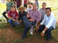 Joaquim Teixeira elogia IAD pelo plantio de mudas de árvores