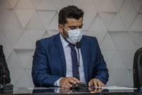 """Presidente da Câmara, Welinton Fonseca (MDB), tem projeto aprovado com base na """"Maria da Penha"""""""
