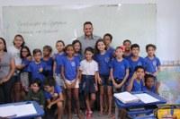 Presidente da CMJP visita UBSs e escolas municipais