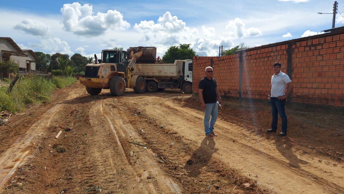 Vereador Brunno Carvalho (SD) acompanha ações e busca melhorias para o bairro Jorge Teixeira