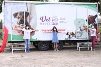 Vereadora Dra. Rosana Veterinária (DEM), participa de doação de trailler para Ong Amparo Animal