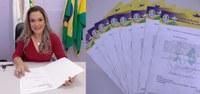 Vereadora Juscelia Dallapicola faz solicitações para que sejam feitos reparos em várias ruas de Ji-Paraná e zona rural