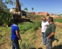 Vereadores acompanham obras no bairro São Cristóvão