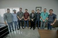 Vereadores cumprem agenda em Porto Velho e agradecem apoio do presidente da Alero